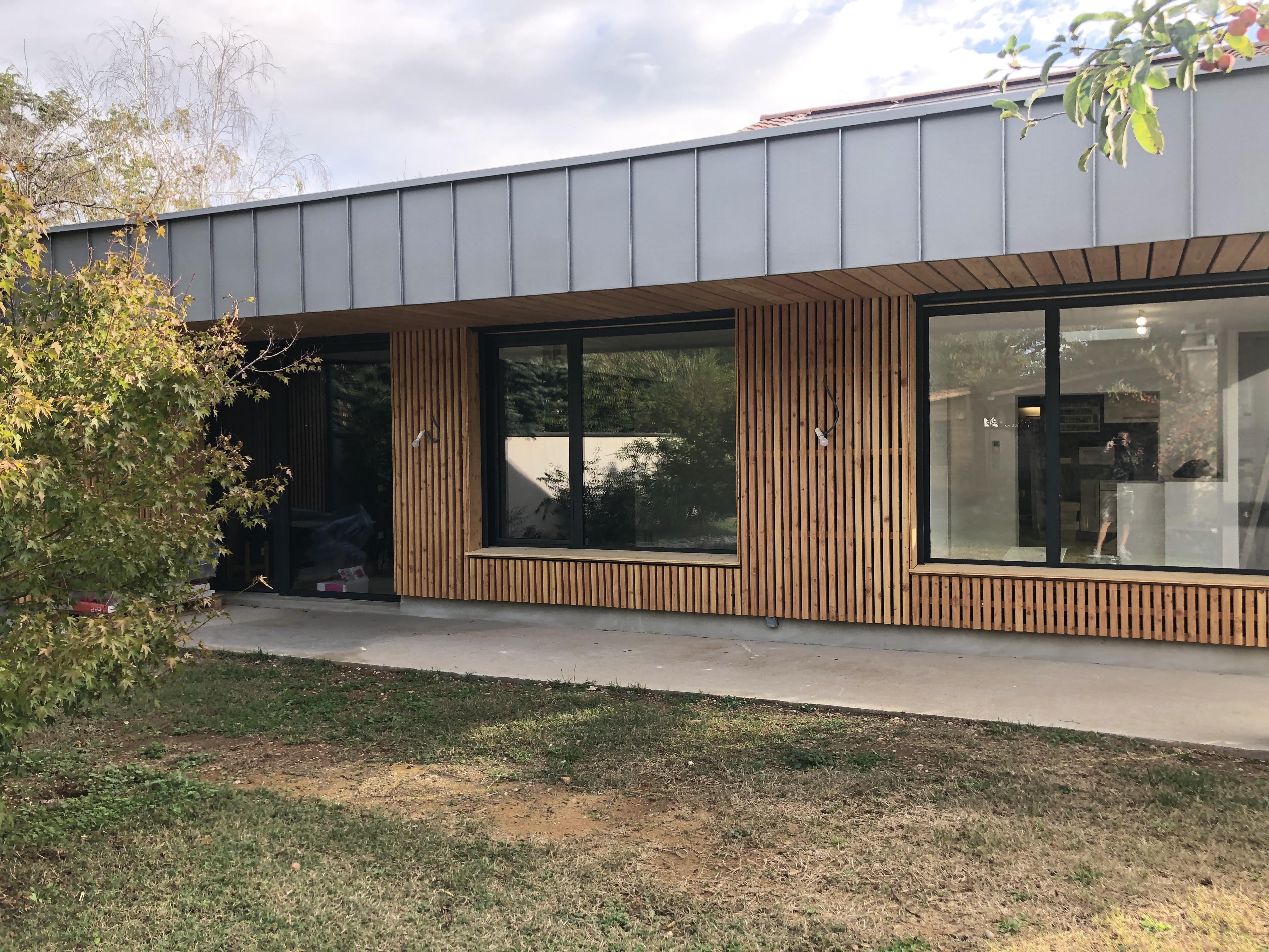Extension de maison bois à Lyon
