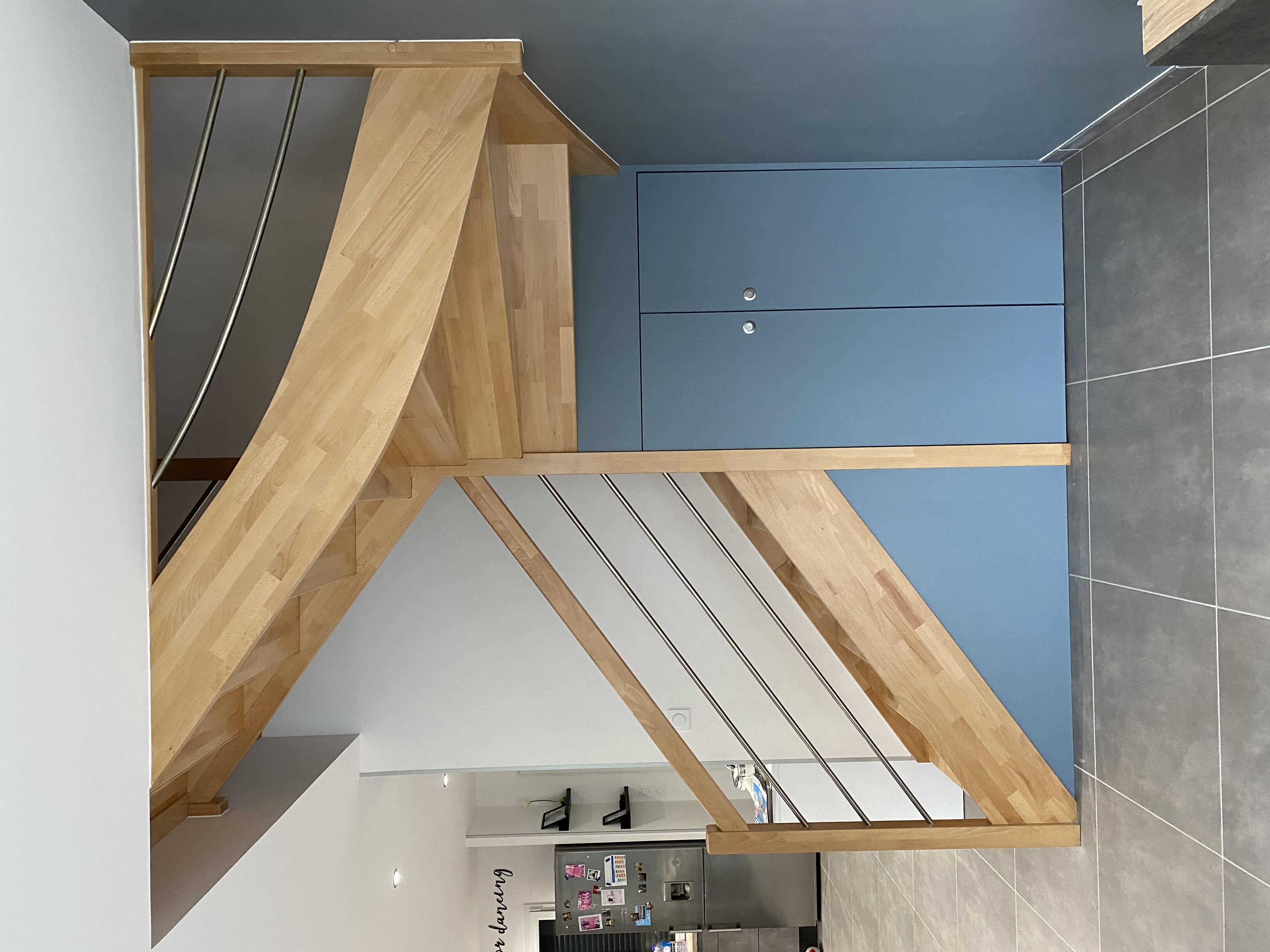 Aménagement sous-escalier sur mesure Lyon  Après